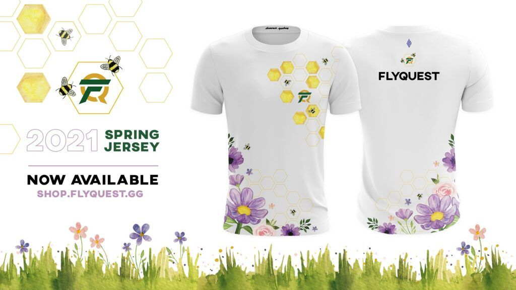 League of Legends, FlyQuest, BeeQuest, Spring 2021 jersey
