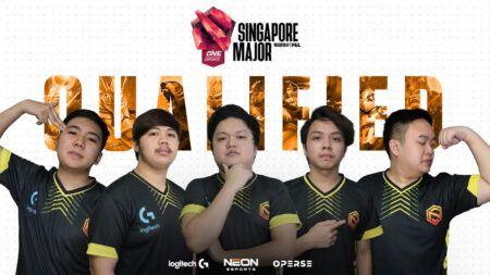 Neon Esports qualifies for the ONE Esports Singapore Major