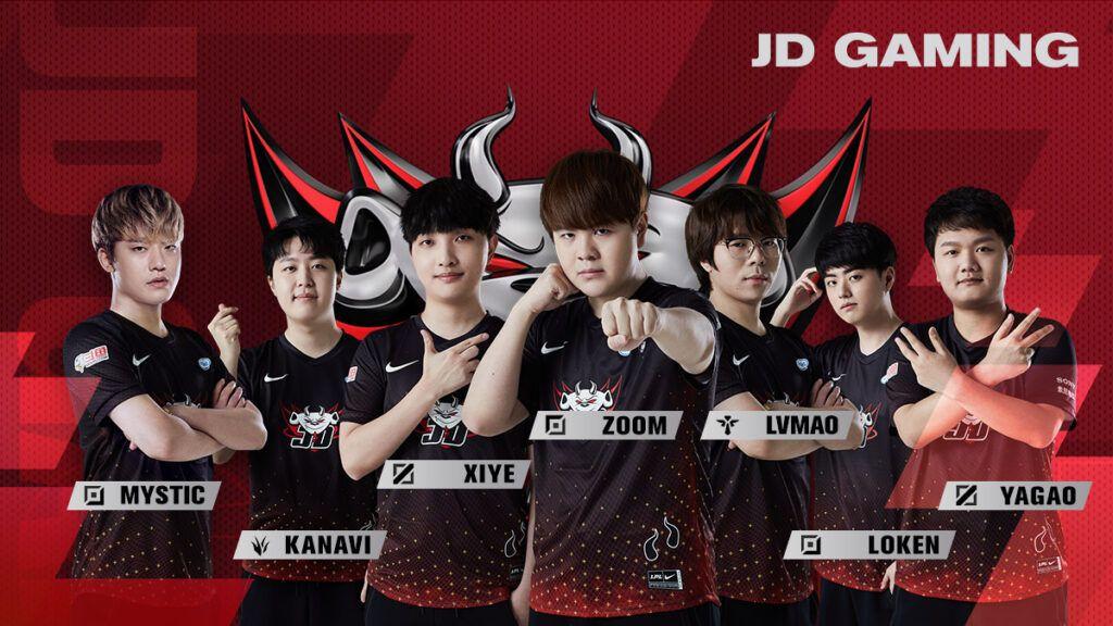 LPL team JD Gaming, Spring 2021