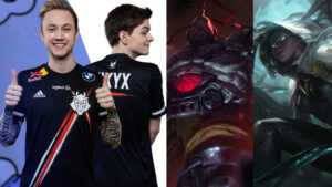 "League of Legends, G2 Esports, Martin ""Rekkles"" LArsson, Mihael ""Mikyx"" Mehle, Sion, Senna, LEC"