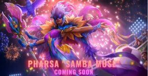 Mobile Legends: Bang Bang skin, Samba Muse Pharsa