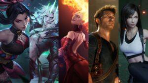 Mobile Legends: Bang Bang, Hanabi, League of Legends, Viego, Dota 2, Lina, Uncharted, Nathan Drake, Final Fantasy VII Remake, Tifa Lockhart Waifu Husbando Video Game