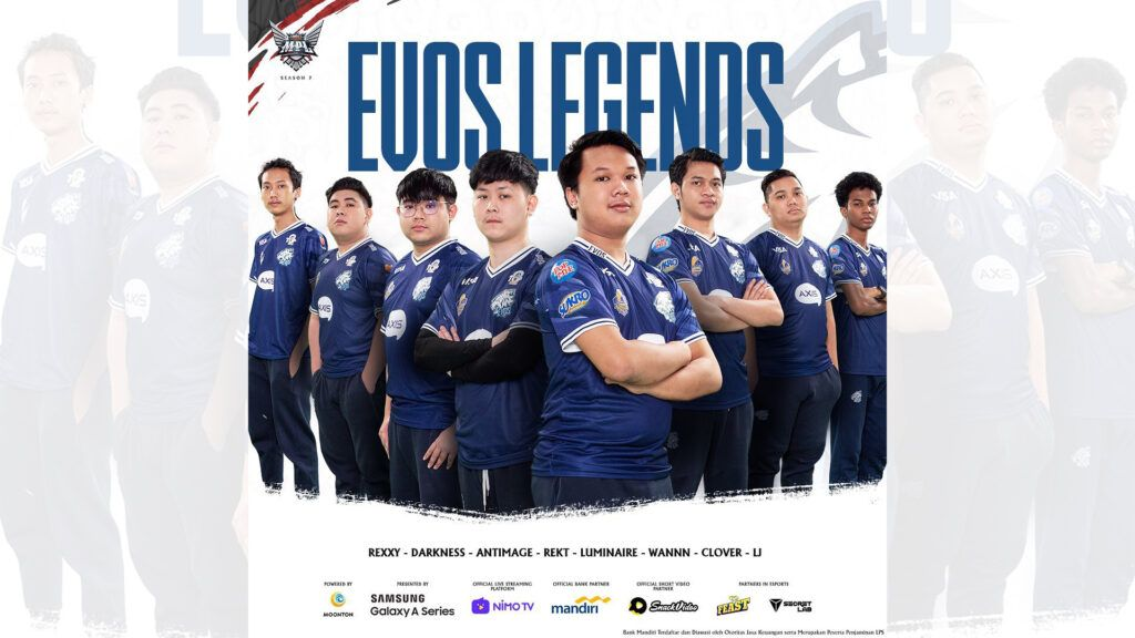 EVOS Legends MPL ID S7 Roster
