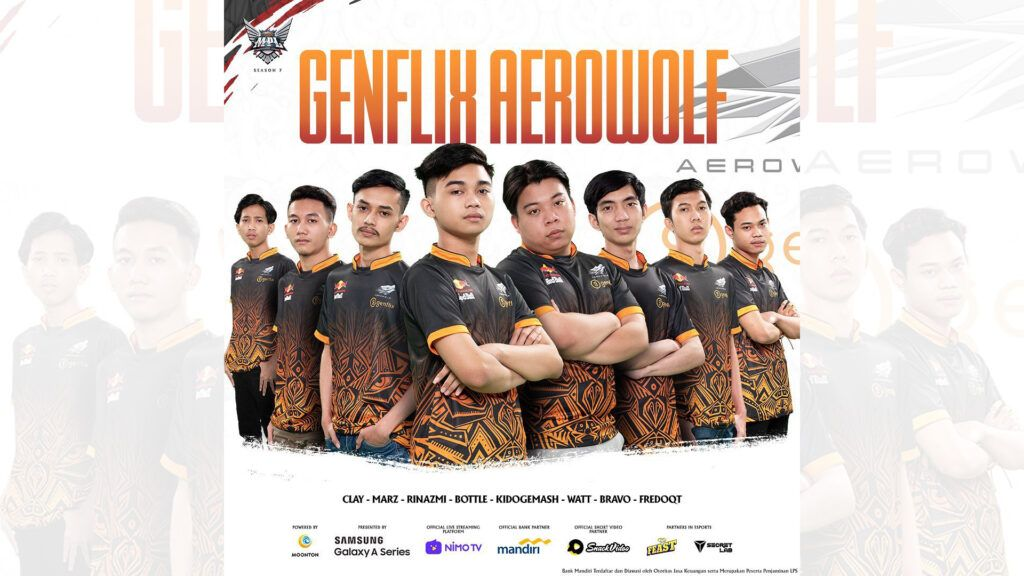 Genflix Aerowolf MPL ID S7 Roster