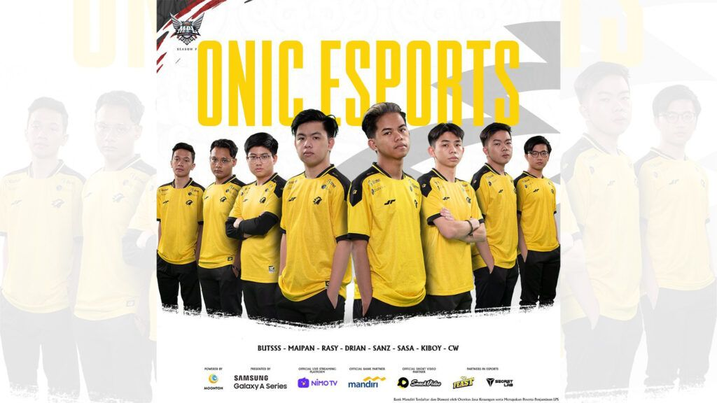 Onic Esports MPL ID S7 Roster