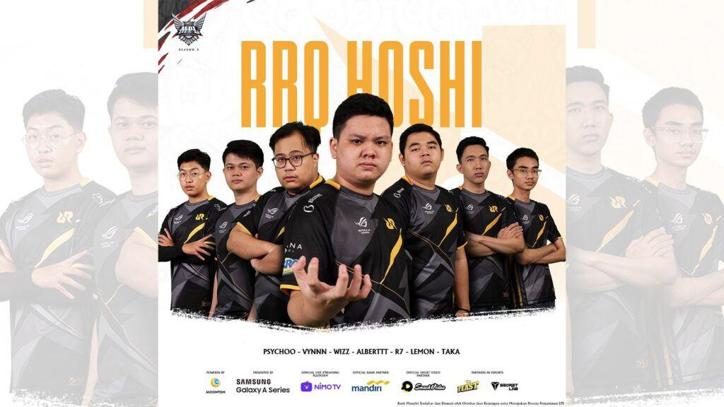 RRQ Hoshi MPL ID S7 Roster