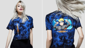 Team Liguid, Naruto Shippuden, Crop top front and back