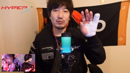 Daigo Umehara injures his finger, Daigo streaming on Twitch