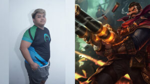 League of Legends: Wild Rift Omega Esports player, Impressive and champion, Graves