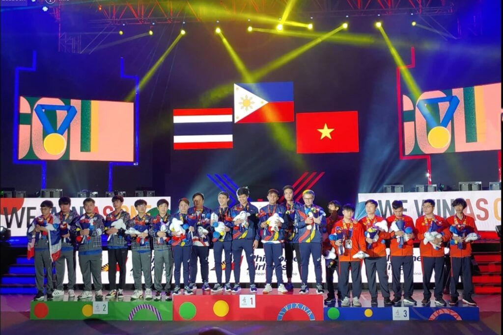 8 bộ môn và 10 nội dung thi đấu Esports xuất hiện chính thức tại SEA Games 31